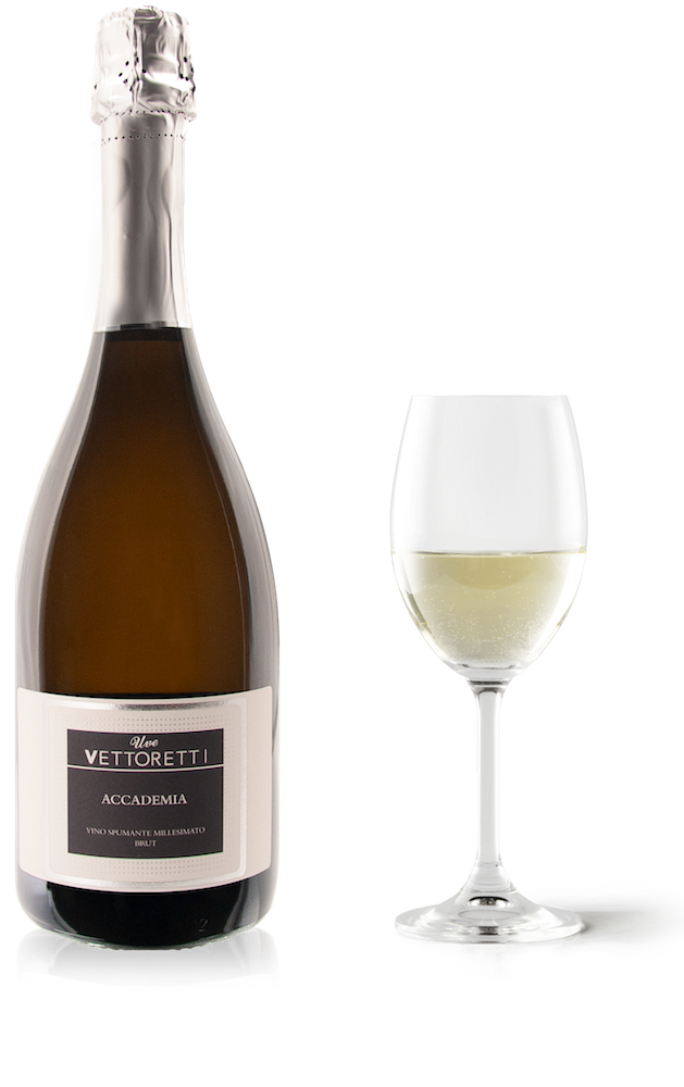 Spumante millesimato Accademia - Brut with glass